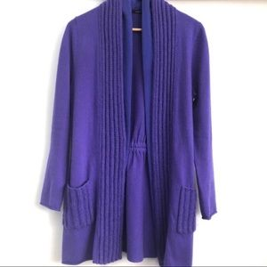 Luisa Cerano Cashmere and Silk Cardigan